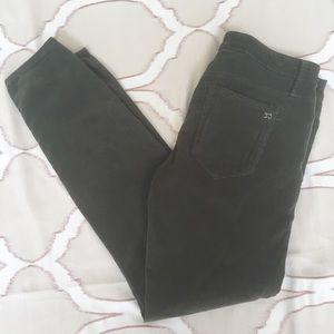 Joe's Jeans Corduroy Chelsea Skinny Ankle Pants